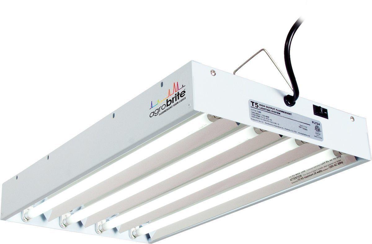 Hydrofarm Agrobrite Flt44 T5 Fluorescent Grow Light System 400 x 300