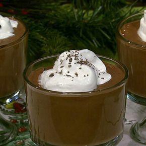 Iron Chef Geoffrey Zakarian's Deep Dark Chocolate Pudding. It looks soooooo good.