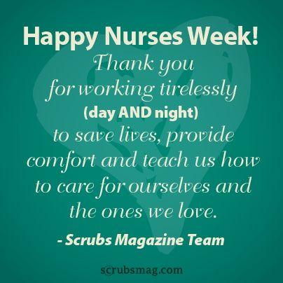 Nursing Quotes | Happy nurses week, Nurse quotes, Nurse ...