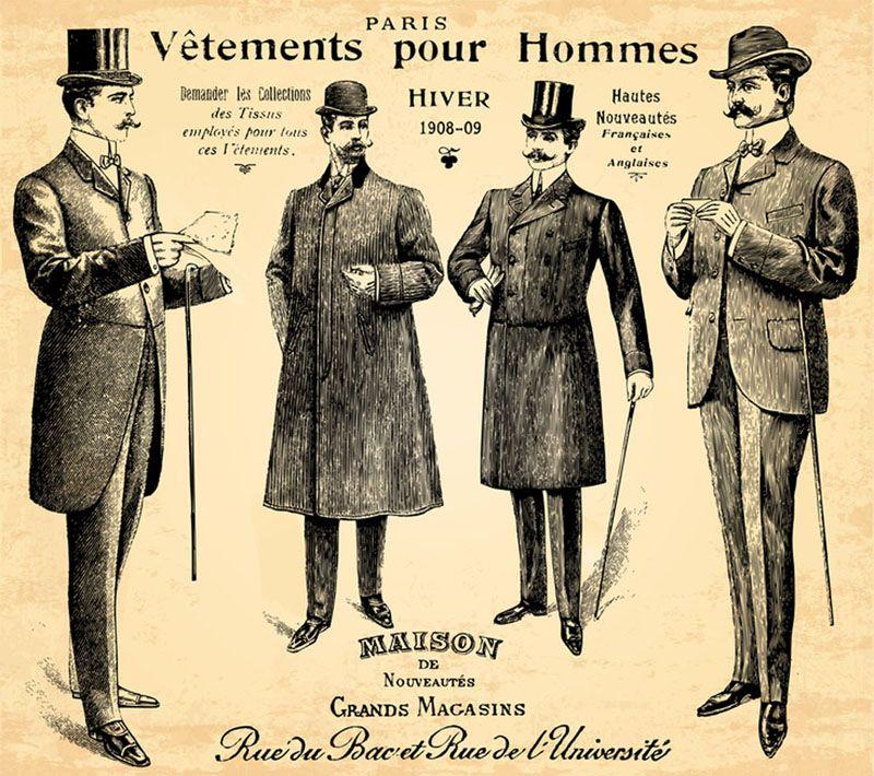 la mode par d cennie ann es 1900 1910 mode au cours du temps pinterest ann e 20 homme. Black Bedroom Furniture Sets. Home Design Ideas