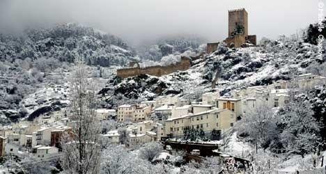 Sierra de Cazorla, Segura y las Villas con nieve