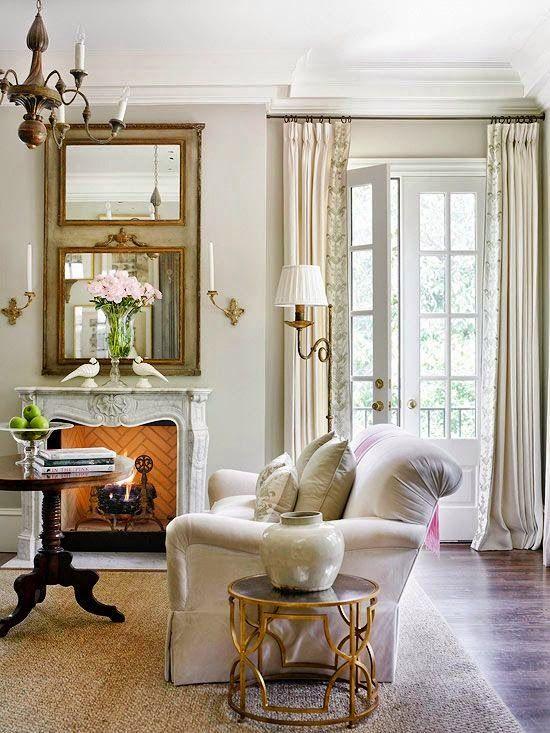 Using mirrors to solve decorating problems гостинная Pinterest