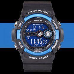 Sanda 320 Outdoor Sports Military Army Watch Miltifunctional LED Wristwatch