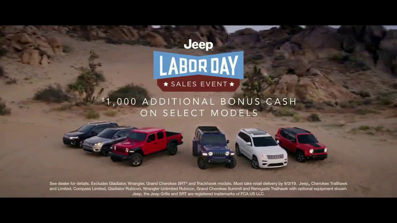 VIDEO Jeep Labor Day Sales Event Connected Ft Arielle