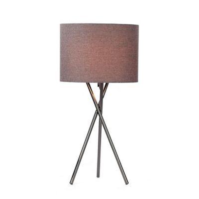 Home collection rudy tripod table lamp debenhams