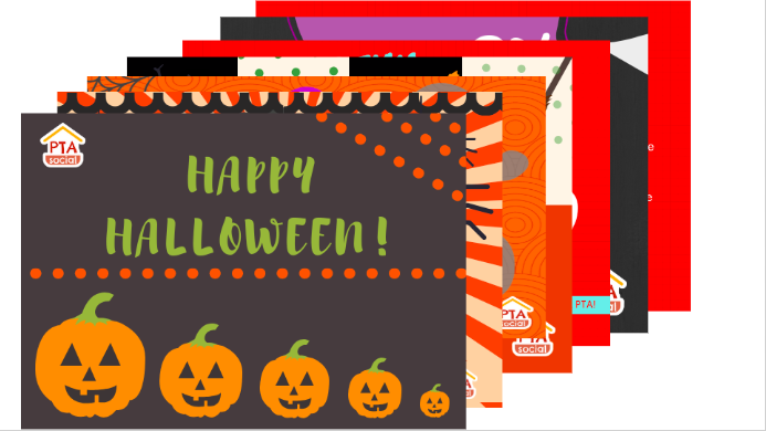 Download these free Halloween HalloGrams and subscribe to