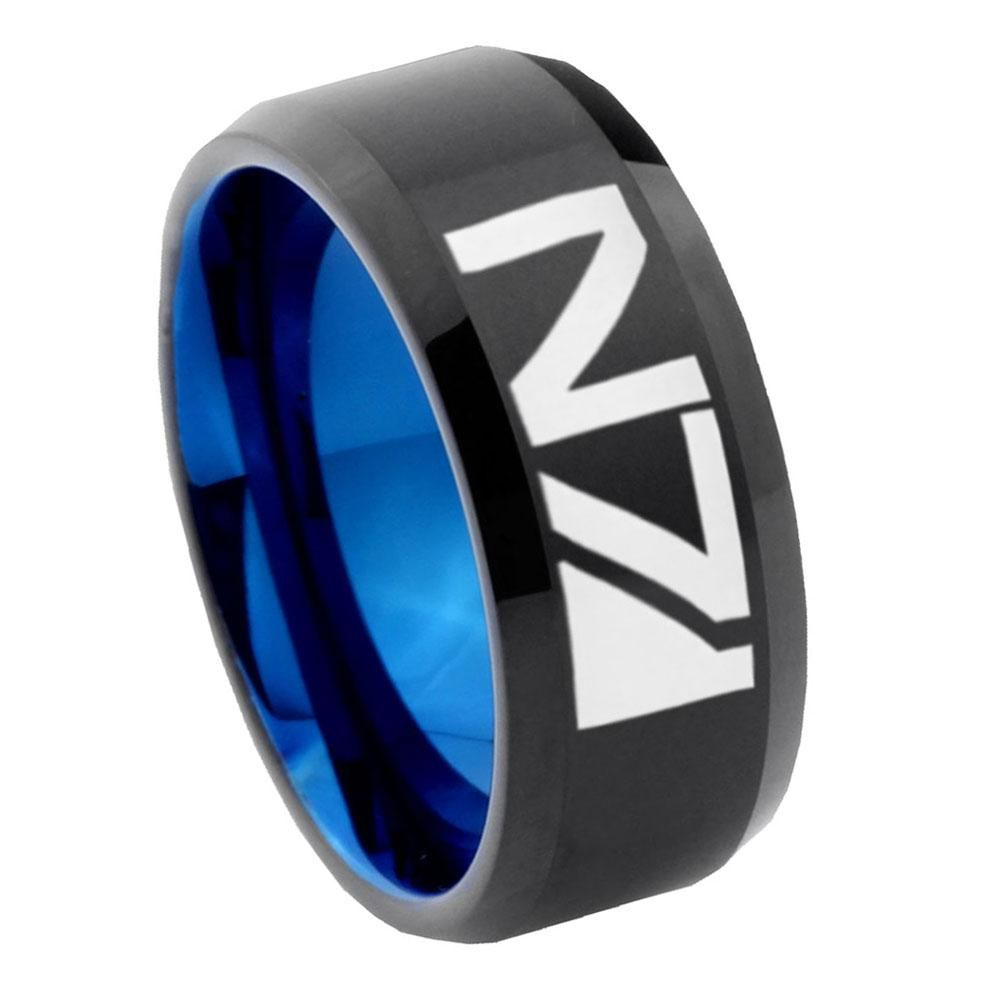 Tungsten Mens Promise Rings Brushed Silver Tungsten Wedding Ring Sets Step Edges Celtic Zelda His Hers Tungsten Wedding Band Set