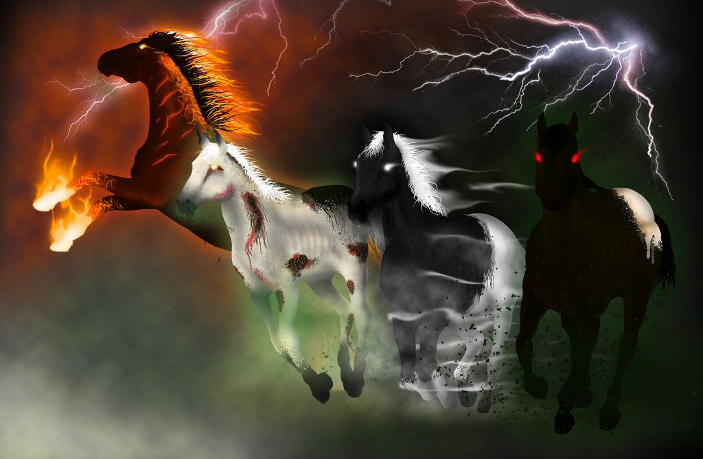 And Finally The Last One Of The Horses Of The Apocalypse