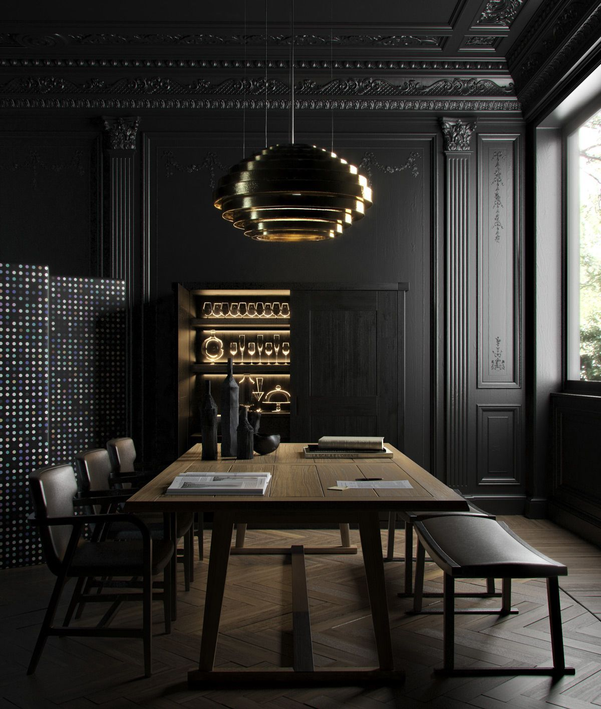Dining Room Decor Always Need A Luxurious Lamp. Discover More Luxurious  Interior Design Details At