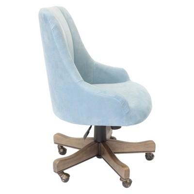 Shubert Desk Chair Light Blue Boss