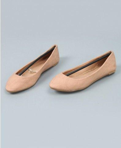Serpentine Grain Flat Shoes - Footwear - Accessories