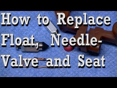 Prevent Flooding Needle Valve Seat Replacement On Briggs Lawn Tractor Carburetor Youtube Lawn Tractor Lawn Mower Repair Valve