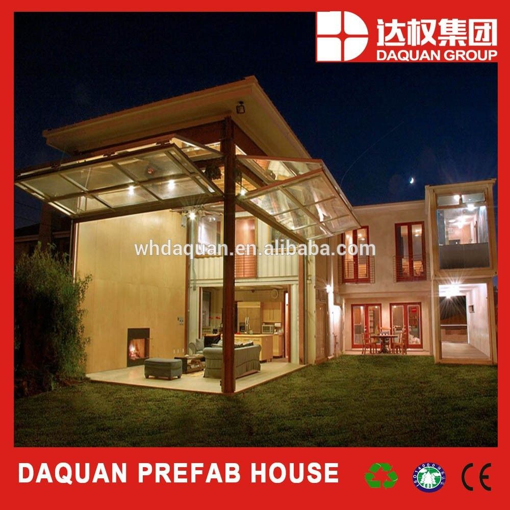 Daquan modular prefab container home kit price low cost for Maison low cost container