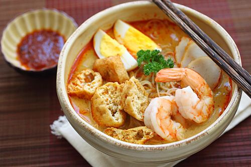Laksa | Easy Delicious Recipes: Rasa Malaysia