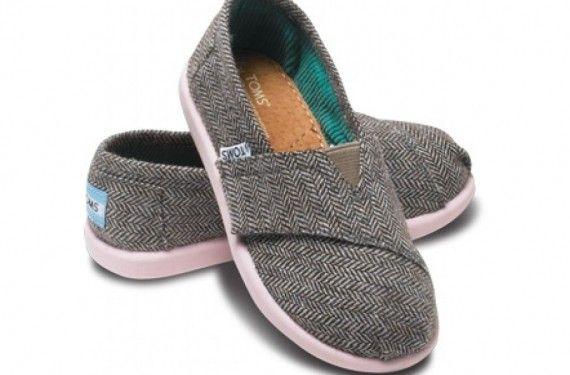 Zapatos negros Toms infantiles 9wv5EURc