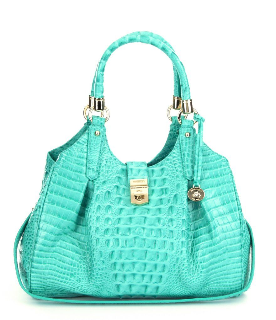 Mermaid Brahmin Lady Melbourne Collection Elisa Hobo Bag this week donate  Any bag  2a425aea499f1