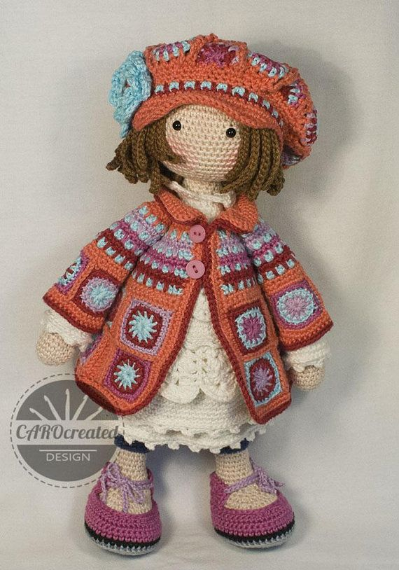 Crochet Pattern For Doll Zoey Pdf Deutsch English Français