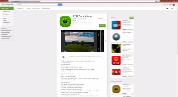 Android RTSP Camera Server With Datarhei/Restreamer | Datarhei