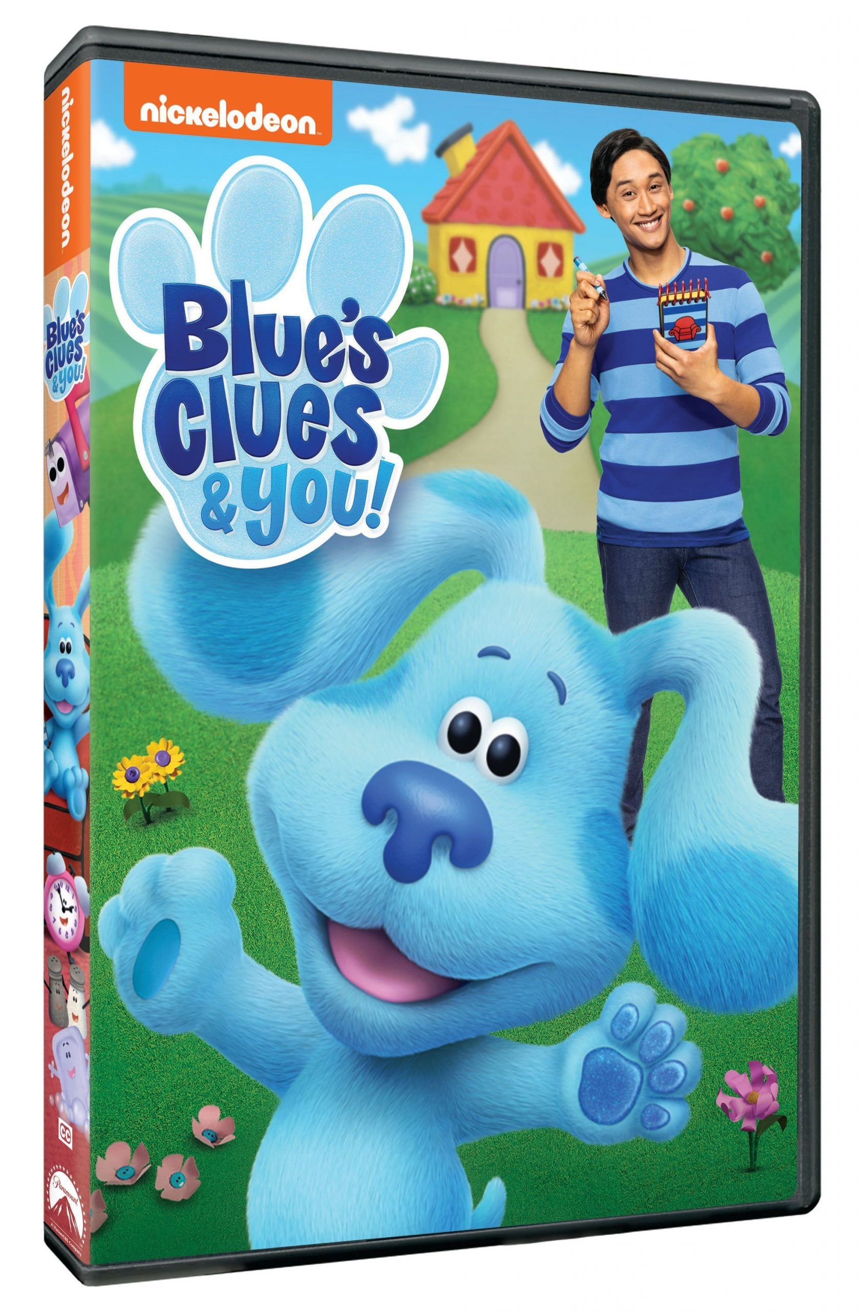 Blue S Clues You Coloring Pages The Review Wire Blue S Clues Blues Clues Blues Clues Dvd