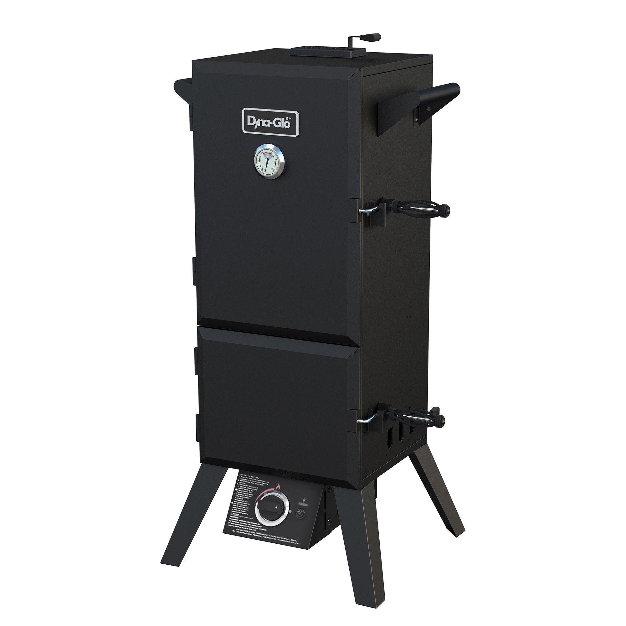 """19"""" Double Door Vertical Propane Smoker with Adjustable Cook Grate"""