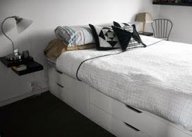 IKEA Hackers: Space saver bed