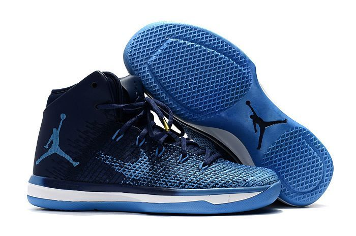 air jordan retro 31 blue gold