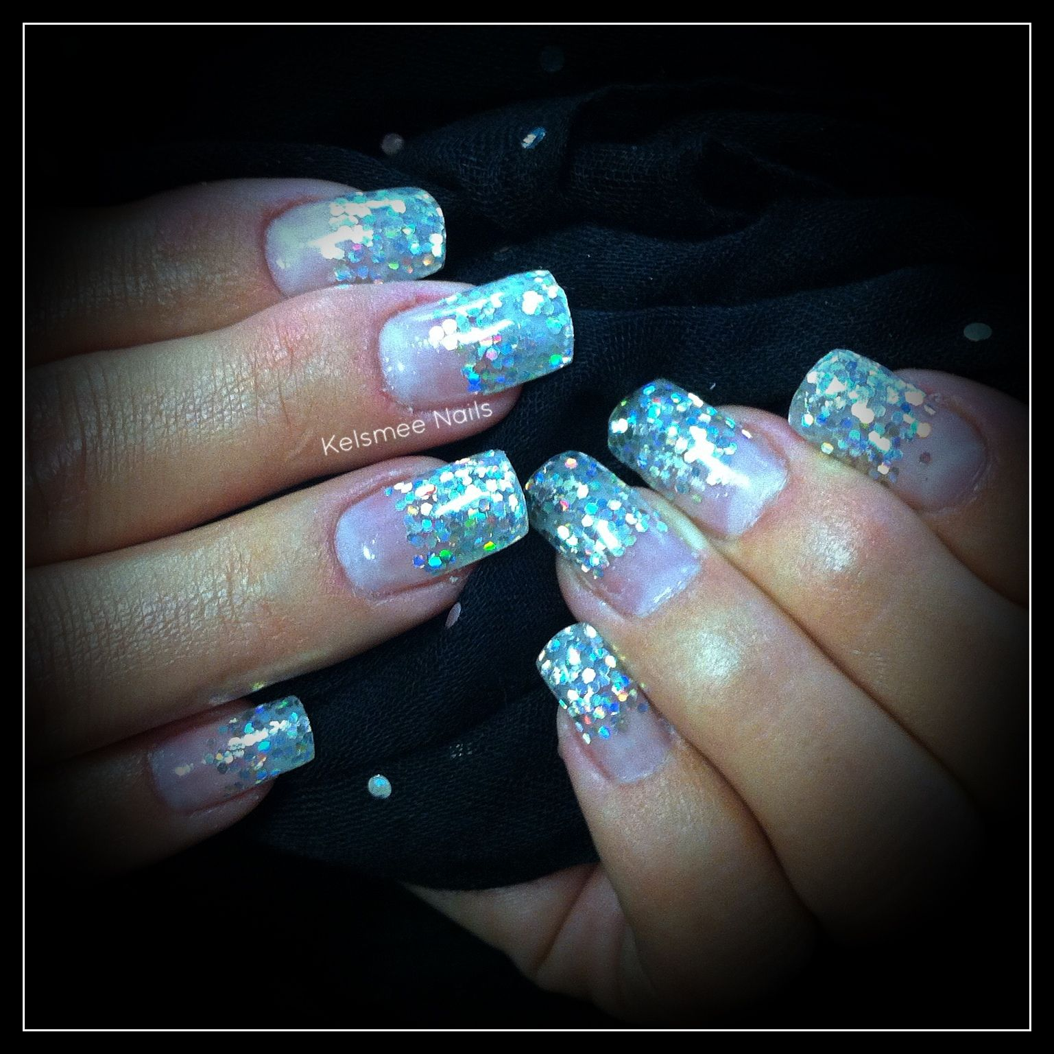 Young Nails gel glitternails