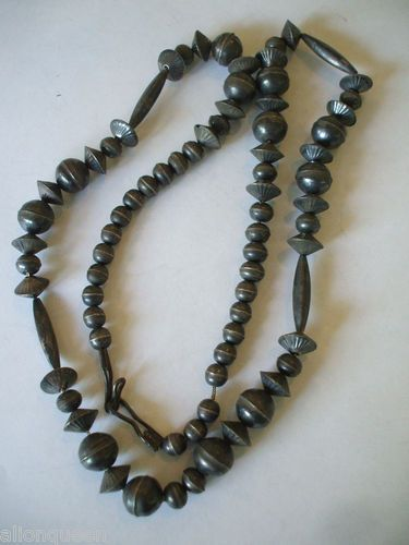 b135408b3d57b Very Old Vintage NAVAJO Pearls Bench Beads, Melon Beads, Fluted ...