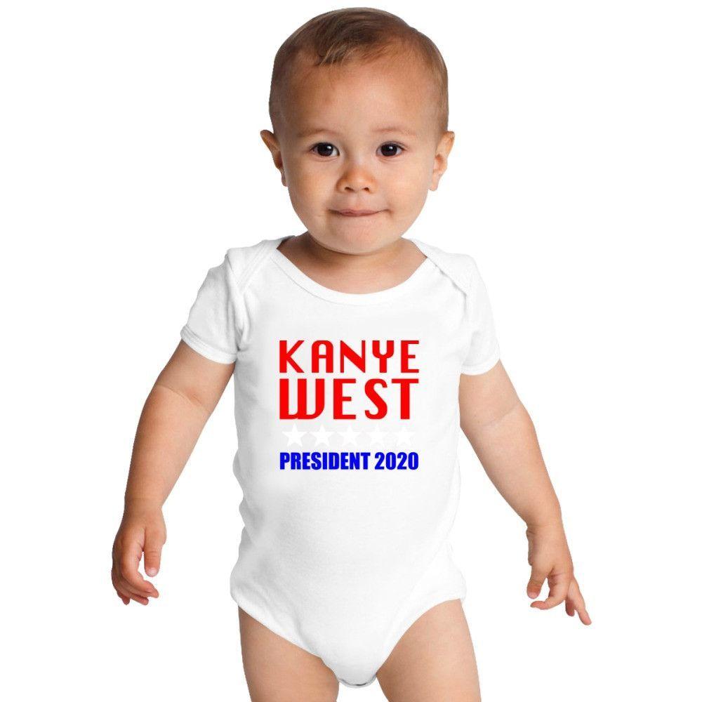 Kanye West President 2020 Baby Onesies Onesies Baby Onesies Trump Baby