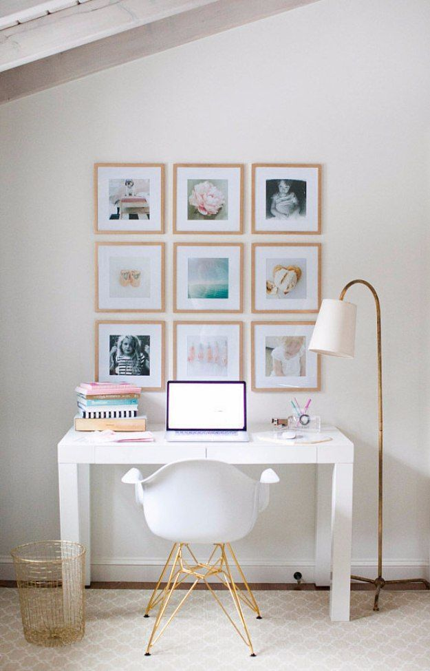 Diy home office decor ideas diy instagram gallery wall do it diy home office decor ideas diy instagram gallery wall do it yourself desks solutioingenieria Choice Image