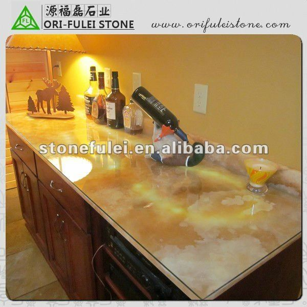 Premium Quality Polished Yellow Onyx Countertop Find Complete