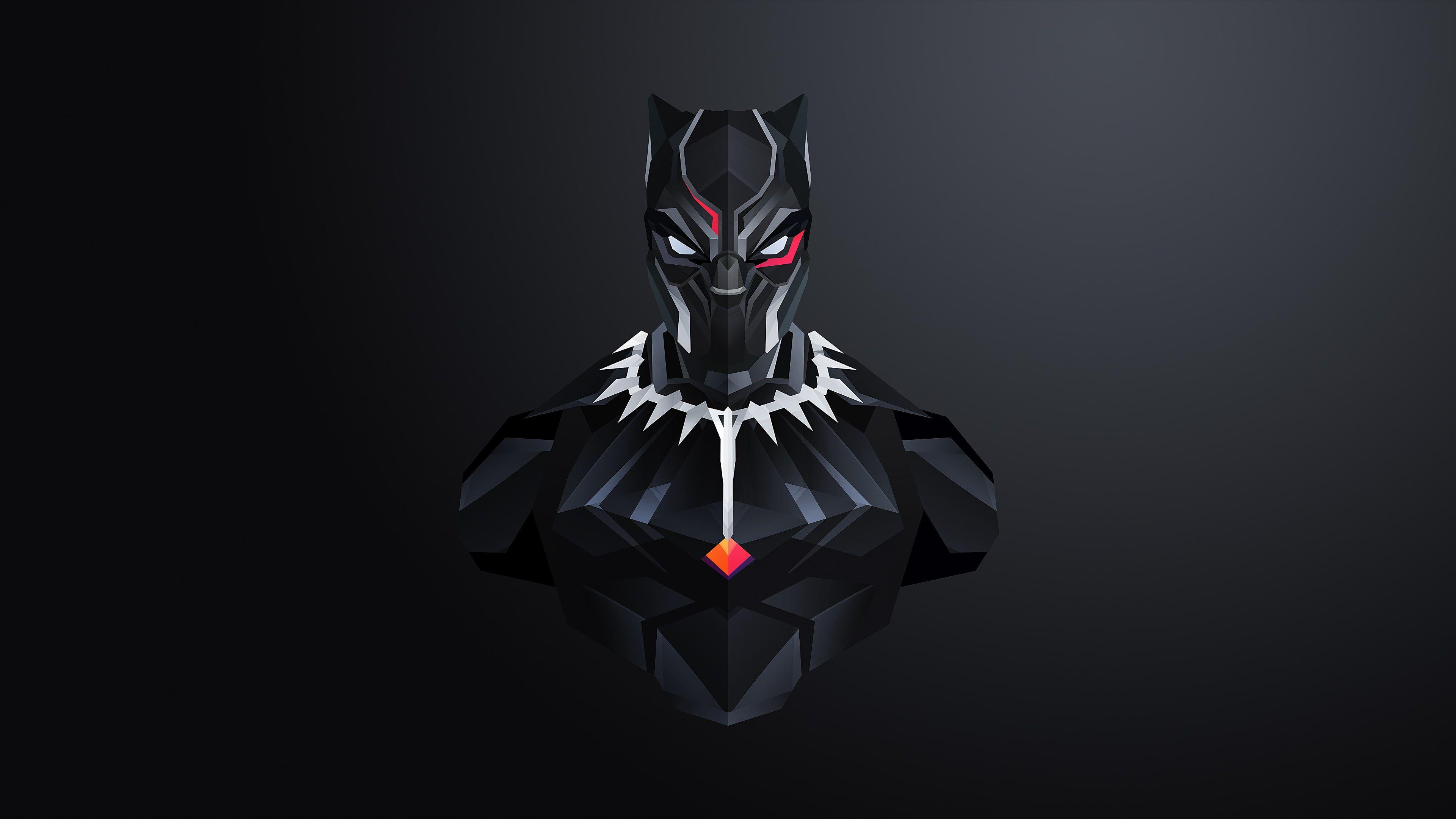 4k Minimal Black Panther 4k Wallpaper Hdwallpaper Desktop In 2020 Black Panther Marvel Black Panther Art Marvel