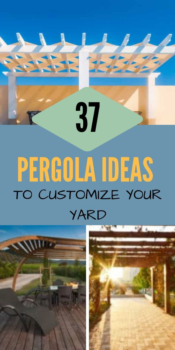 37 Pergola Ideas to Customize Your Yard for 2020 (With ... on Side Yard Pergola Ideas id=60788