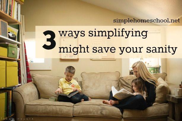 Photo of 3 Möglichkeiten zu vereinfachen können Ihre geistige Gesundheit retten – Simple Homeschool
