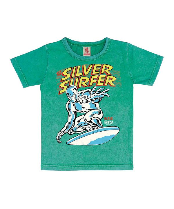 e310092a Vintage Green Silver Surfer Tee - Kids by Logoshirt | For my ...