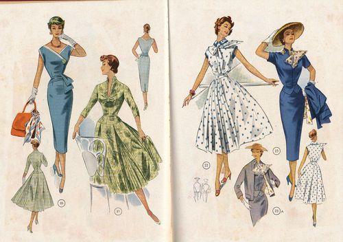 Vintage 50s Lutterloh Sewing Drafting Patterns Book The Golden Rule | eBay