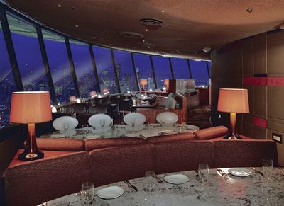Sky City Restaurant, the Space Needle in Seattle, WA