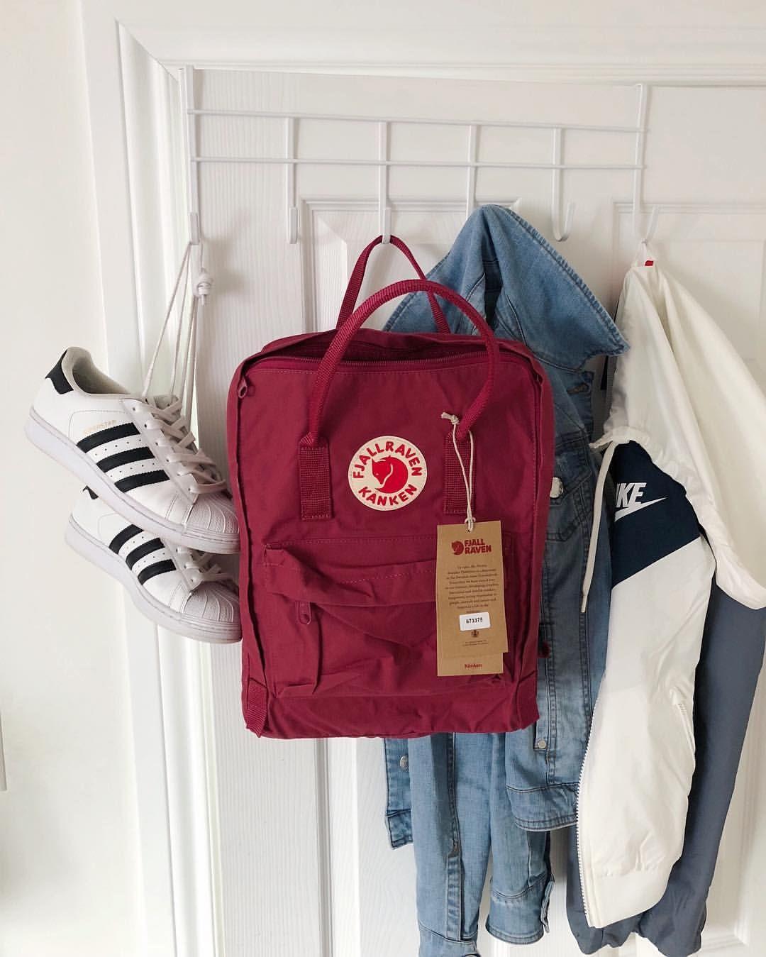 Fjallraven Kanken Backpack em 2020 | Mochila, Mochila kanken