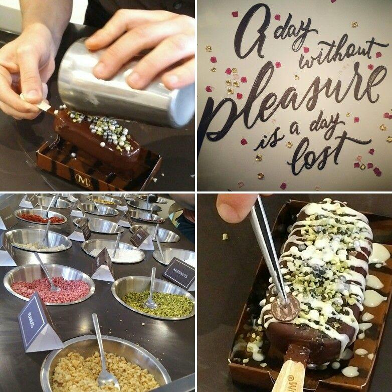 Personalized Magnum ice cream bars!                                …
