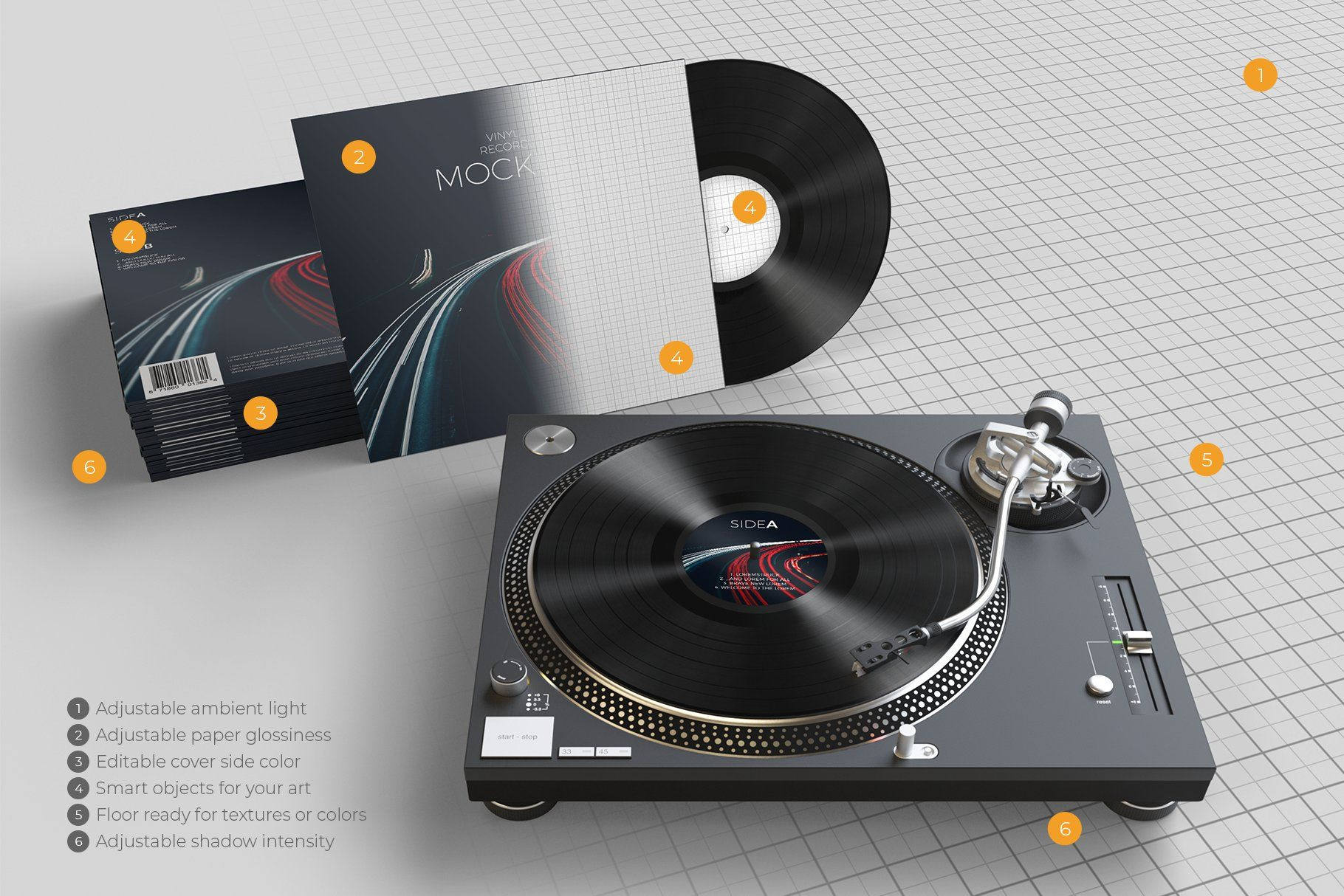 Vinyl Record Mockup 2 In 2020 Vinyl Records Vinyl Records