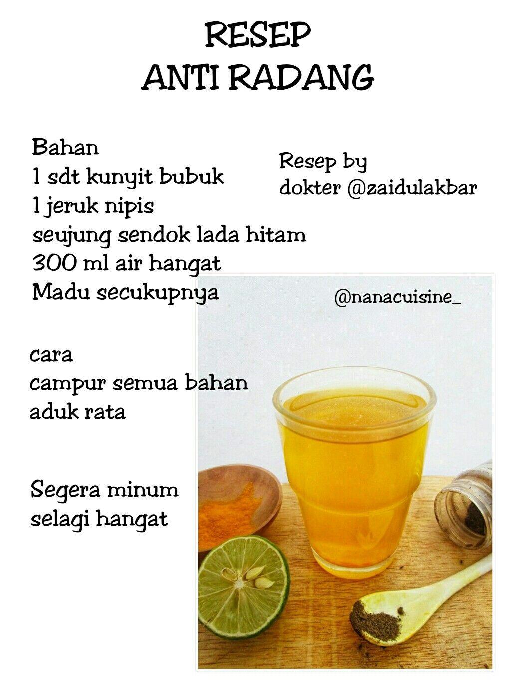 Resep Minuman Tradisional Obat Alami Resep Diet Resep Diet Sehat
