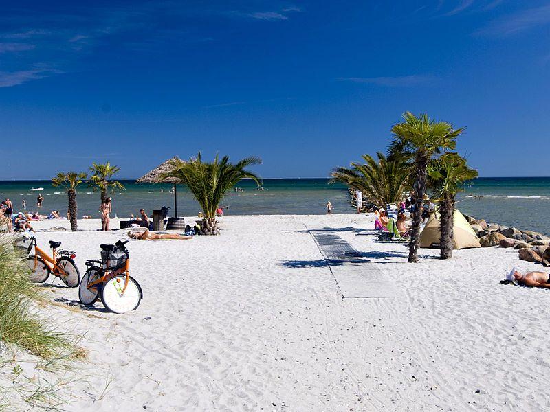 The Palm Beach In Frederikshavn Northern Part Of Denmark
