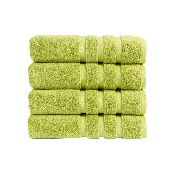 Christy Modena Towel - Mojito (17 CAD) ❤ liked on Polyvore featuring home, bed & bath, bath, bath towels, christy bath towels, green bath towels and green hand towels