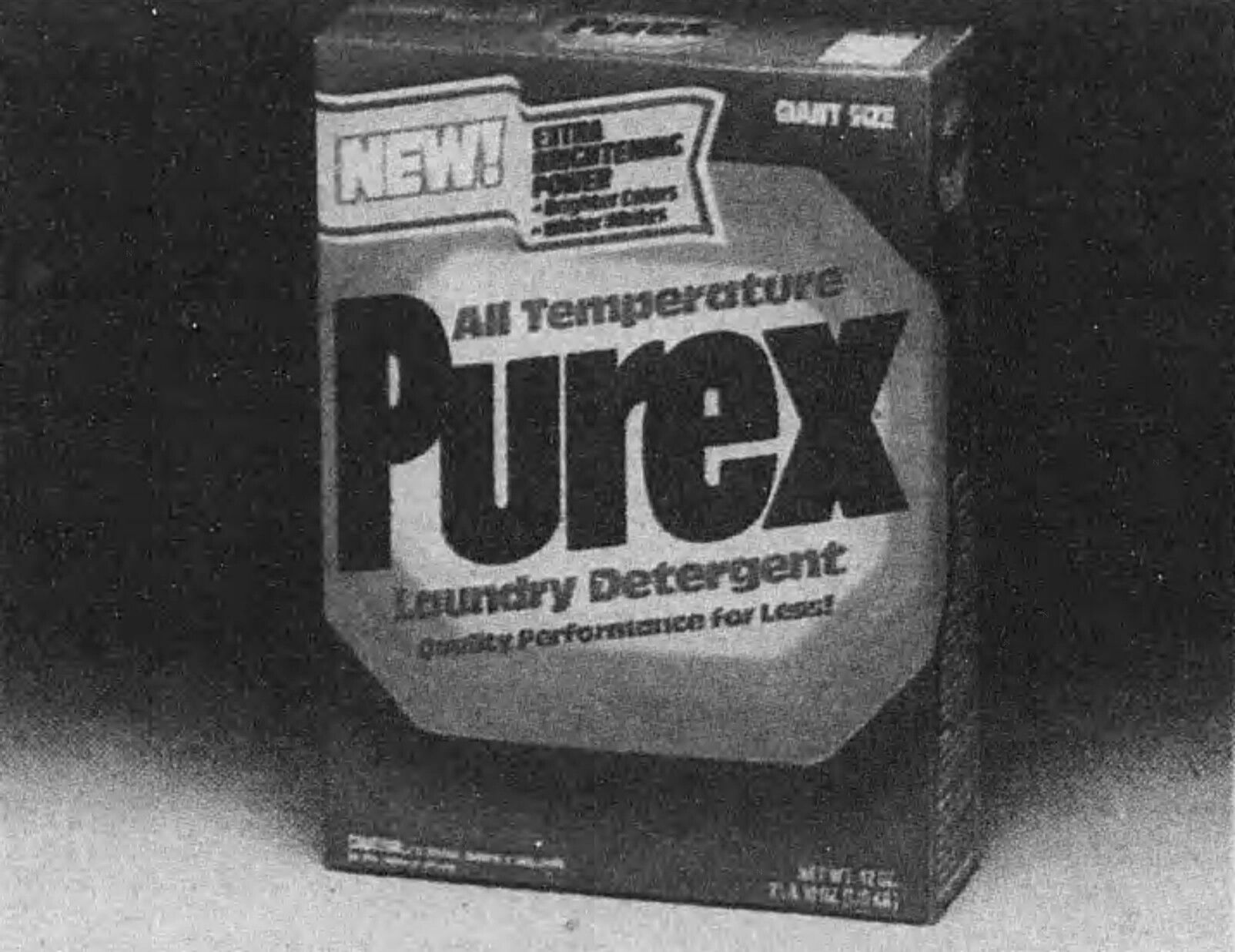 Purex Detergent Box From The 80s Vintage Laundry Vintage