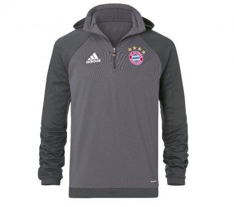 best sneakers 91cb8 6defa adidas Men's FC Bayern Munich Fleece 1/4 Zip Hood - Goal ...