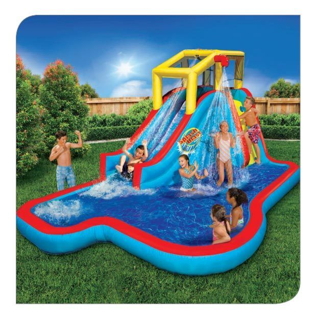 Pin by Tammy Young on giveaway | Inflatable water park ...