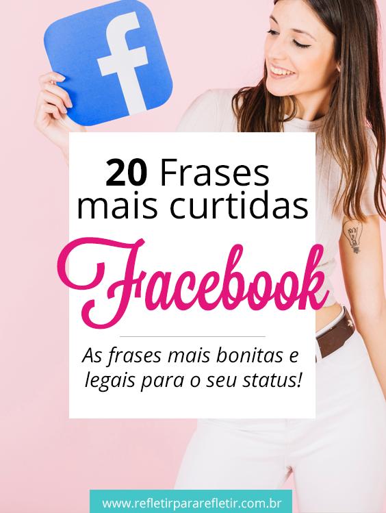 As 20 Frases Mais Curtidas No Facebook Y André Frases