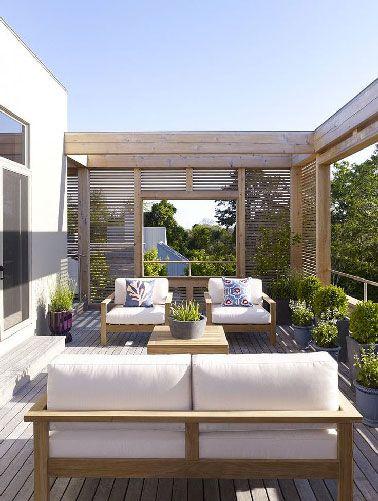 Epoustouflantes déco de terrasses 100% détente | Pièces à ...