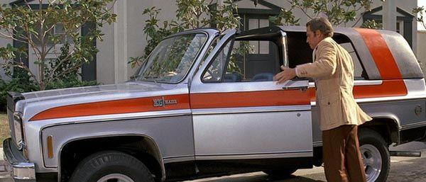 Charleton Heston S K 5 Chevy Blazer With Custom Roof In
