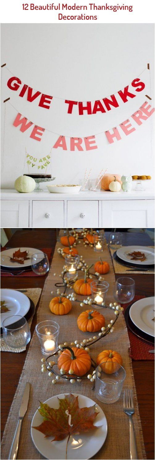 Modern Thanksgiving Decorations Thanksgiving Ideas Entertaining Tips Party Ideas And In 2020 Modern Thanksgiving Decor Modern Thanksgiving Thanksgiving Decorations